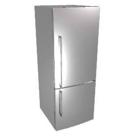 Fisher & Paykel E402BRX Fridge Freezer, Stainless Steel
