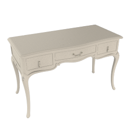Rose Dressing Table, Ivory