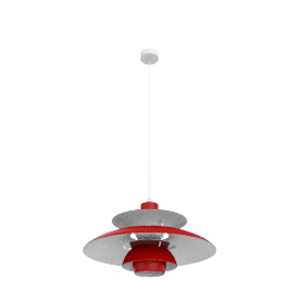 PH50 Pendant Lamp, Chili Red