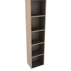 Dexter Tall Narrow Bookcase
