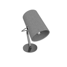 Diesel with Foscarini Fork table, brown/grey