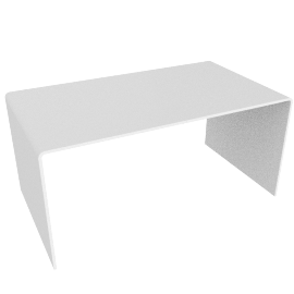 Ice Coffee Table, White