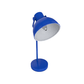 Parker Table Lamp, Blue