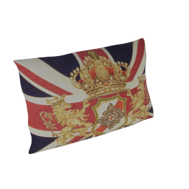 Hampton Union Jack & Crest Cushion