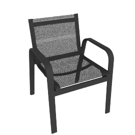 Stack Armchair, Anthracite