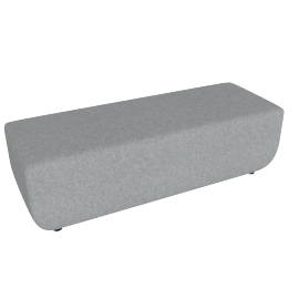 Softbench Long, Light Grey