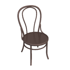 Café Bentwood Dining Chair, Cocoa