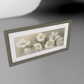 Adelene Fletcher - Linen Cascade Framed Print, 59 x 110cm