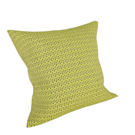 Chunky Knit Cushion, Citrine