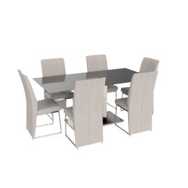 Vista 6-seater Dining Set