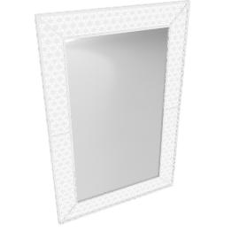White Petal Wall Mirror