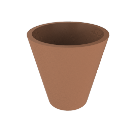 New Pot 50, Terracotta