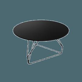 Polygon Wire Table - Medium, Black