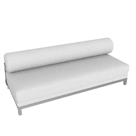 Twilight Sleep Sofa - Aluminum Frame