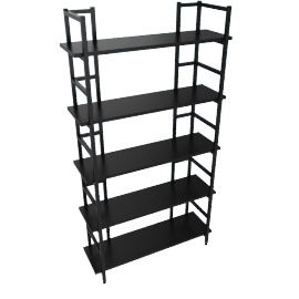 Parson Bookcase with 5 Shelves