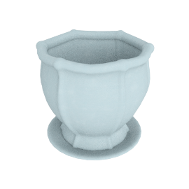 Zia Planter - 18x18x18 cms