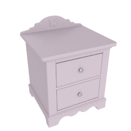 Isabelle 2 Drawers Nightstand