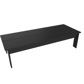 Hennepin Coffee table, Black
