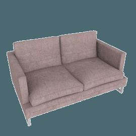 Corsica 2-Seater Sofa, Purple Grey