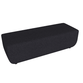 Softbench Long, Anthracite