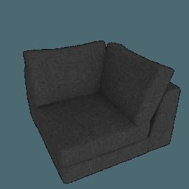 Reid Corner, Ducale Wool - Light Grey