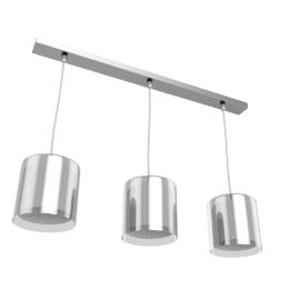 Wayward Triple Bar Pendant