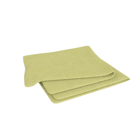 """Bed by Conran"" Silk Throw, Green"