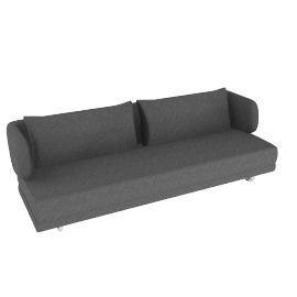 Bay Sleeper Sofa - Charcoal