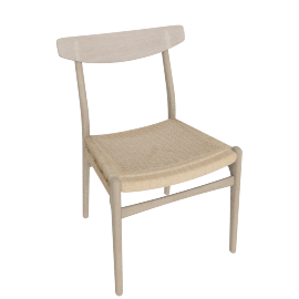 CH23 Side Chair, Soaped Oak