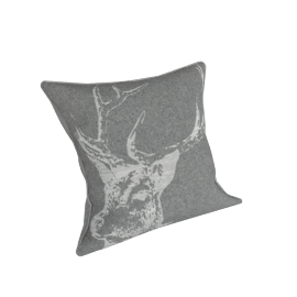 Parlane Reindeer Cushion Cover, Grey