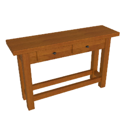 Bergerac Console Table, Alsace