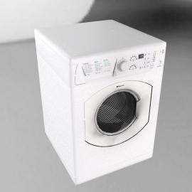 Hotpoint WMF740P Washing Machine, White