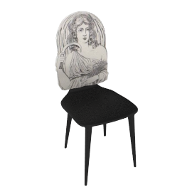 four seasons chair by fornasetti