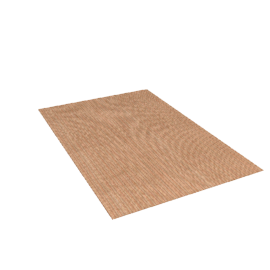 Sisal Stripe Rug, Rust, W120 x L180cm
