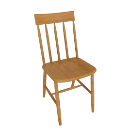 Nicola Chair, Chestnut