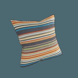Maharam DWR Pillow in Ottoman Stripe