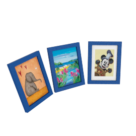 Bailey Photo Frame - Set of 3, Blue