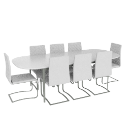 Lasky 8-seater Dining Set