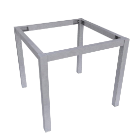 Blend End Table Frame, Brushed