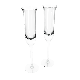 Vera Wang by Wedgwood Love Knots Flutes, Set of 2