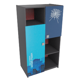 Spider Power Ii Book Case