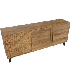 Nomos 2-Door 3-Drawer Buffet Table