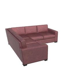Portola Sectional Sofa - Leather
