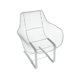 Sculptura Spring Occasional Chair, Grey