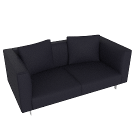 Bilsby Two-Seater Sofa in Leather