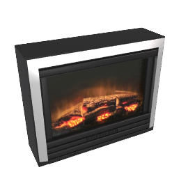 Burley Fuel-Effect Electric Fire, Drayton 211, Brushed Aluminium