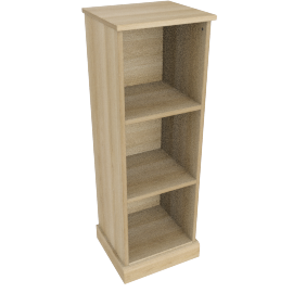 Charlie 3 Box Storage, Oak