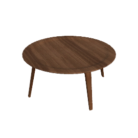 Eames® Molded Plywood Coffee Table