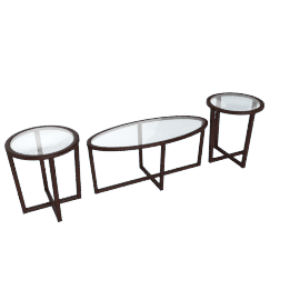 Leopold 3-Piece Coffee and End Table Set