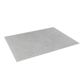 Snow Shaggy Rug - 120x160 cms, White